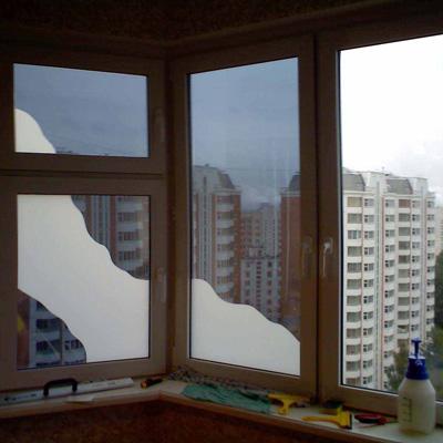 Тонировка окон дома своими руками