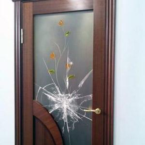 Ремонт стекла в двери своими руками