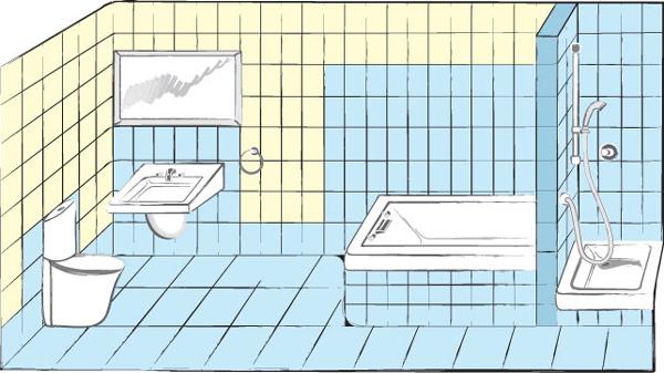 Гидроизоляция ванной варианты мастика битумная кровельная и изоляционная в украине продажа