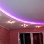 Светодиодное освещение потолка: от ленты до