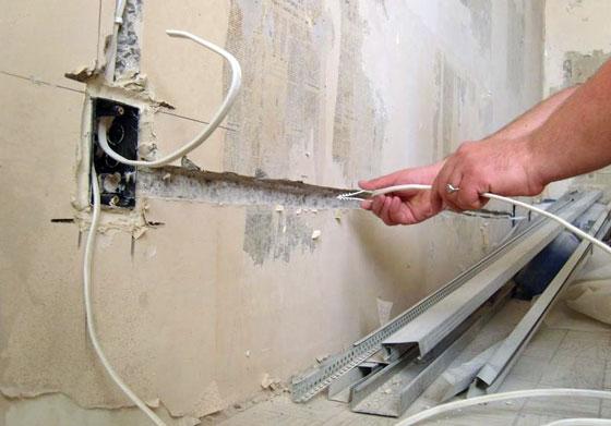 Монтаж электропроводки в квартире своими руками с заземлением