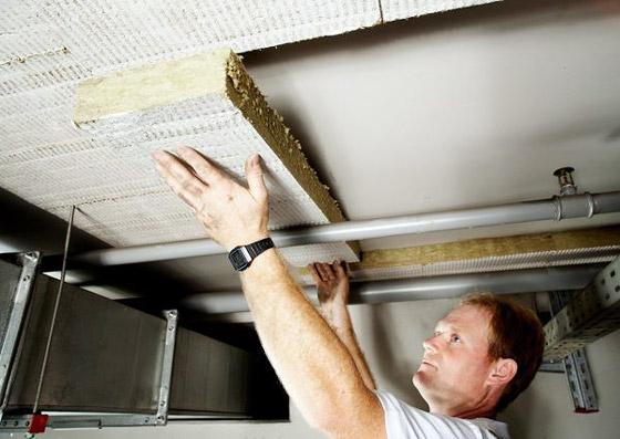 Обшивка утеплителем потолка в подвале - то с чего стоит начинать работы по утеплению пола 1 этажа (почему - было сказано в начале статьи)