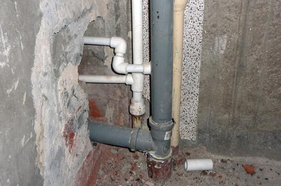 Монтаж канализации в квартире