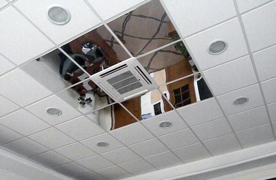 Сборка потолка армстронг