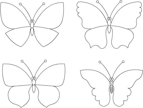 Бабочки для декора своими руками фото 478