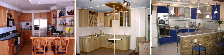 Совмещенные кухни-бары