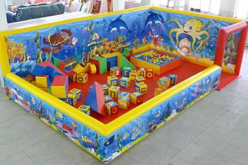 Надувная игровая площадка