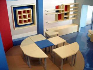 Детский мебельный гарнитур типа доу