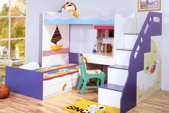 детская мебель с игровыми мотивами