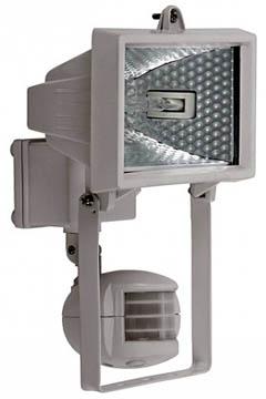 Галогенный прожектор с детектором движения