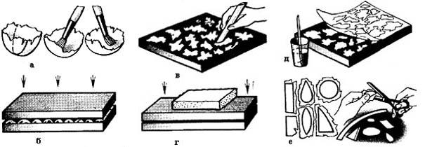 Подготовка скорлупы для мозаики