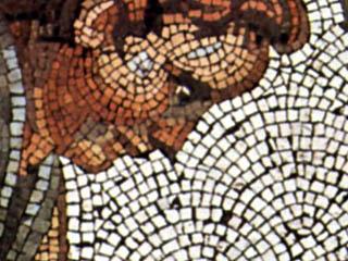 Фрагмент византийской мозаики
