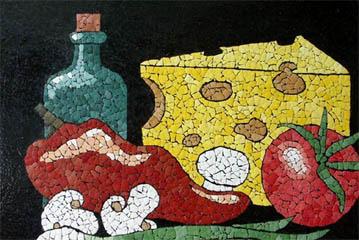 Мозаика-кракле из яичной скорлупы