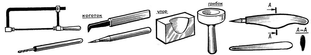 Инструмент для обработки раковин