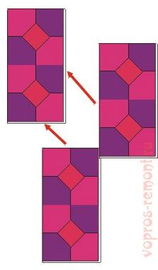 Склейка шаблона для мозаики