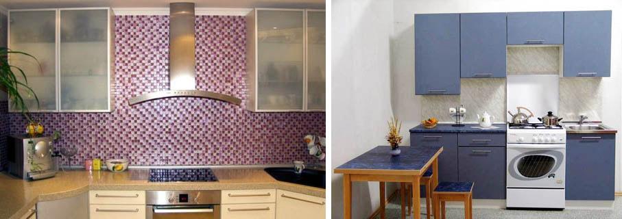 Правильные соотношения фартука и мебели