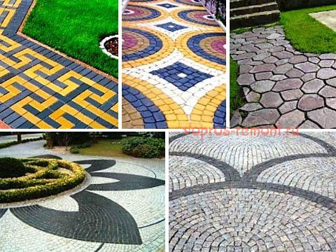 Декоративные покрытия из плитки