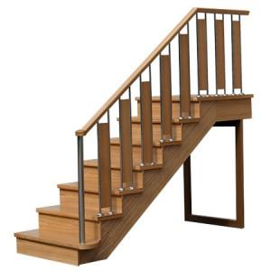 Лестница в дачном доме на второй этаж своими руками видео