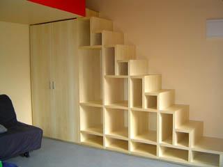 """Деревянная лестница """"3 в 1"""""""