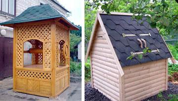 Псевдо-домик и домик колодца