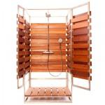Как построить дачный душ: варианты конструкций, компоненты, результат