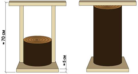 Самодельные деревянные трамбовки