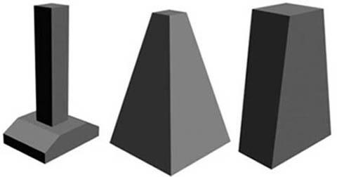 Готовые бетонные столбы для фундаментов
