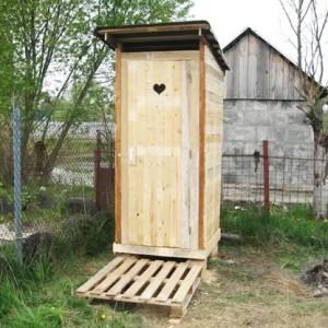 Туалет из осб плиты своими руками 484