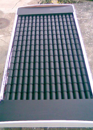 Воздушный солнечный коллектор из алюминиевых банок