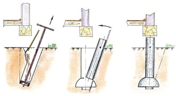 Дом на столбчатом фундаменте своими руками