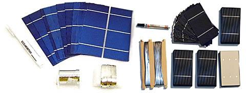 Конструкторы для самостоятельной сборки солнечных батарей