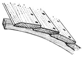 Обшивка шлюпочной доской