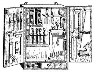 Полка для инструмента