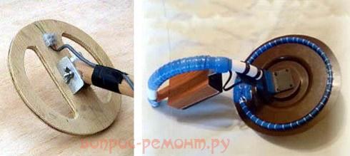 Самодельные оправки для катушек металлоискателей