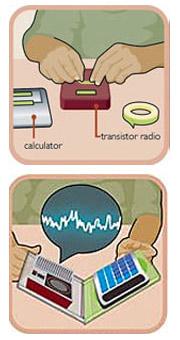 Металлоискатель из радиоприемника и калькулятора