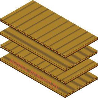 Изготовление заменителя деревянной доски из гофрированного картона