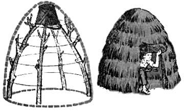 Детский шалаш-шале