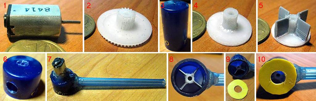 Изготовление самодельной микропомпы для фонтана