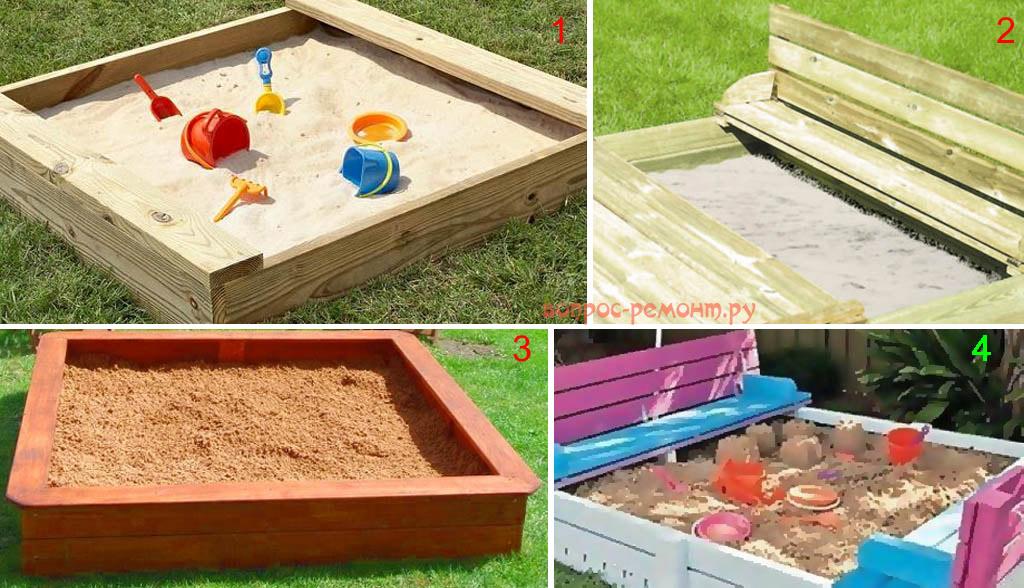 К выбору песка для песочницы