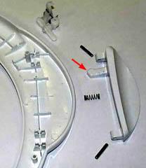 Ручка дверцы стиральной машины
