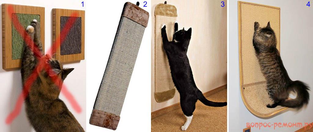Настенные когтеточки для кошек
