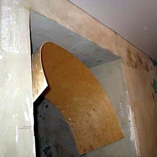 Как сделать простейшую фанерную арку