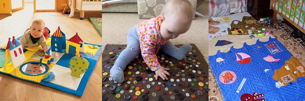 Детские развивающие коврики, изготовленные с ошибками