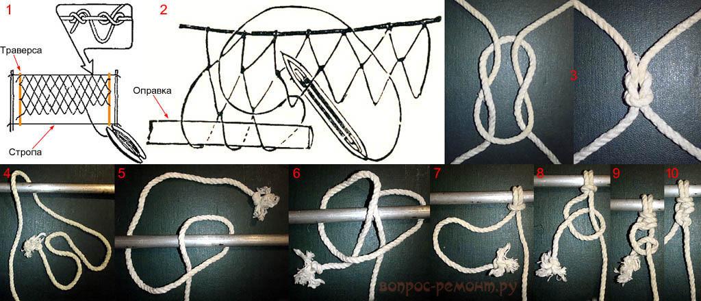 Плетение гамака своими руками