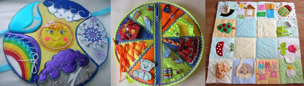 Примеры развивающих ковриков для девочек