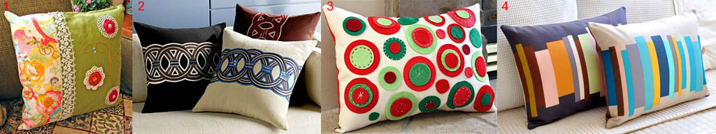 Влияние ориентации нитей основы и утка ткани на форму подушки