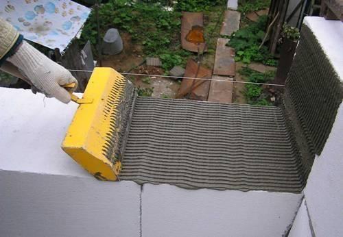 Ручной дозатор клея для газобетона