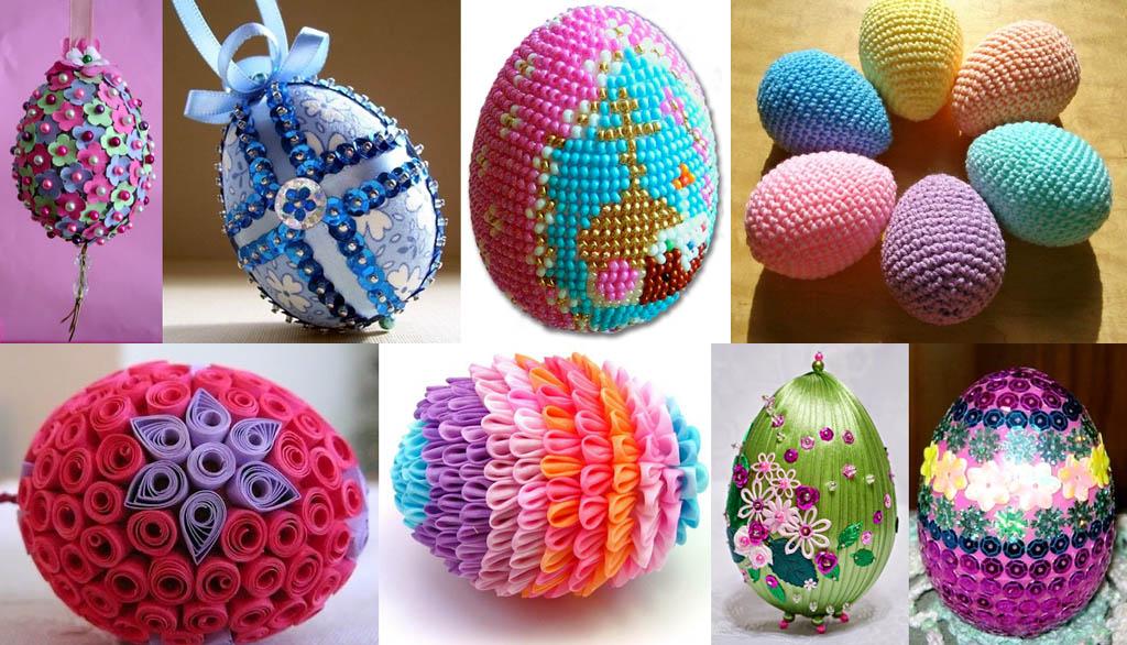 Самодельные пасхальные яйца