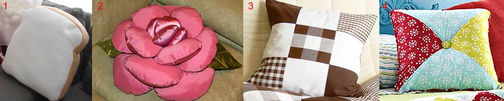 Роль формы в декоре подушек