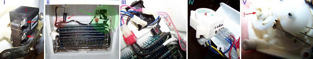 Проверка узлов электросхемы и таймера холодильника типа No Frost